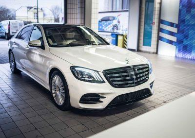 Mercedes S itswrap oklejanie aut 1