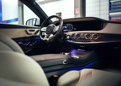 Mercedes S itswrap oklejanie aut 15