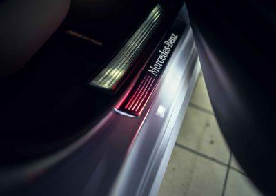 Mercedes S itswrap oklejanie aut 17