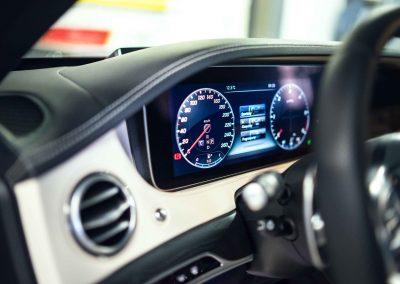 Mercedes S itswrap oklejanie aut 18