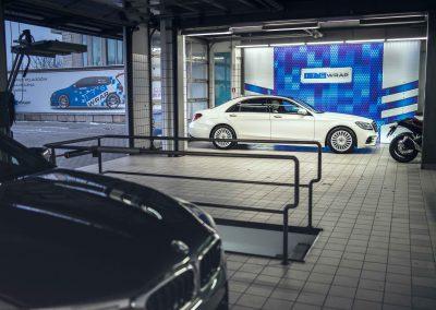 Mercedes S itswrap oklejanie aut 2