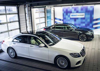 Mercedes S itswrap oklejanie aut 7