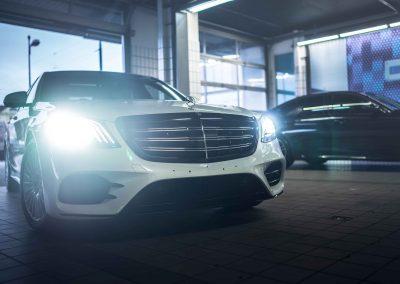 Mercedes S itswrap oklejanie aut 8