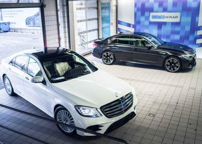 Mercedes S itswrap oklejanie aut 9
