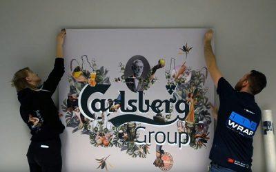 Rebranding wnętrz siedziby Carlsberga